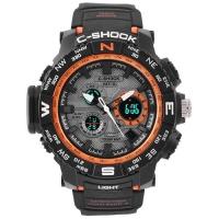 Часы наручные C-SHOCK MTG-S1000 Вlack-Orange. 32756