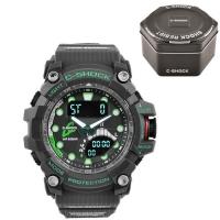 Часы наручные C-SHOCK GWN-Q1000 Black-Green, Box. 32752