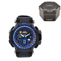 Часы наручные C-SHOCK GW-4500 Black-Blue, Box. 32731