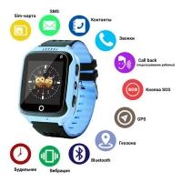 Smart часы Lux детские с GPS Q528 + камера, blue. 31655