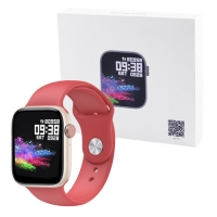 Фитнес-браслет Apl band T89, IP67, 42mm, red. 32162