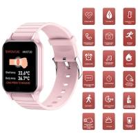 Фитнес-браслет Apl band T96, температура тела, pink. 32165