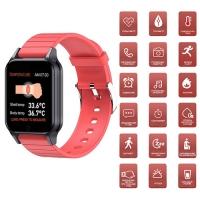 Фитнес-браслет Apl band T96, температура тела, red. 32166