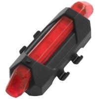 Фонарь велосипедный DC-918, красный, ЗУ micro USB, встроенный аккумулятор, Box Lux. 32421