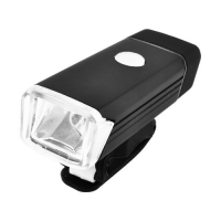 Фонарь велосипедный BST-001/2278-XPE, ЗУ micro USB, встроенный аккумулятор, алюмин, подсветка Lux. 32420