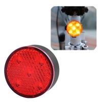 Фонарь велосипедный AQY-0113-5SMD, красный, ЗУ microUSB, встроенный аккумулятор Lux. 32411