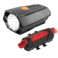 Фонарь велосипедный BSK-178-1-LM, STOP-5SMD, ЗУ micro USB, встроенный аккумулятор Lux. 32417