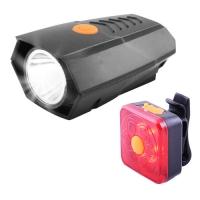 Фонарь велосипедный BSK-178-2-LM, STOP-6SMD, ЗУ micro USB, встроенный аккумулятор Lux. 32418
