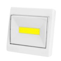 Подсветка универсальная в виде выключателя K10-COB, магнит, липучка, 3хAAA Lux. 32037