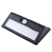 Настенный уличный светильник XF-6012-30SMD, 1x18650, PIR+CDS, солнечная батарея Lux. 32008