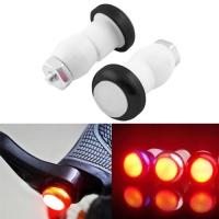 Фонарь-заглушка для велосипедного руля 410-49, 2xLR1130 Lux. 32629