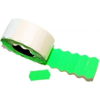 Этикет-лента Aurika 26х12 green (2612G). 47817