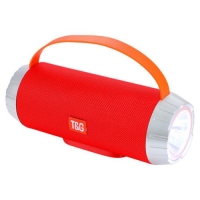 Bluetooth-колонка T&G UBL TG501, c функцией speakerphone, радио, red. 31586