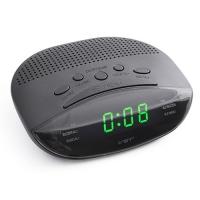 Часы сетевые VST-908-4 салатовые, радио FM, 220V. 32864