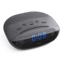 Часы сетевые VST-908-5 синие, радио FM, 220V. 32865