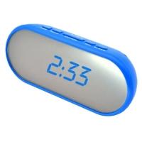 Часы сетевые VST-712Y-5, синие, USB. 32818
