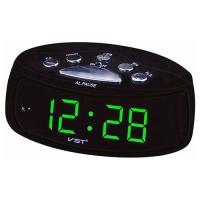 Часы сетевые VST-773-4, зеленые, USB. 32841