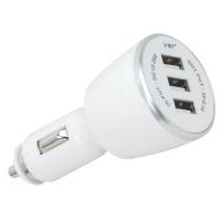 Автомобильная USB зарядка от прикуривателя 12V VST-707, 3 USB Lux. 31661