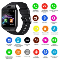 Smart часы Lux DZ09 + камера, black. 31637