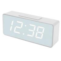 Часы сетевые VST-886Y-6, белые, USB. 32856