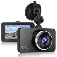 """Автомобильный видеорегистратор Lux 675, LCD 3"""", Angel Lens, 1080P Full HD, HDMI. 31672"""