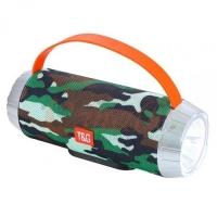 Bluetooth-колонка T&G UBL TG501, c функцией speakerphone, радио, camouflage. 31585