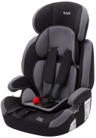 Автокресло Bair Beta Iso-fix 1/2/3 (9-36 кг) DBI2423 черный - серый. 32893