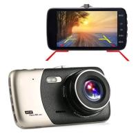 "Автомобильный видеорегистратор Lux X600, LCD 4"", Angel Lens, камеры, 1080P Full HD, металл. корпус. 31683"