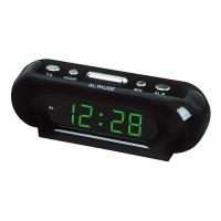 Часы сетевые VST-716-4 салатовые, 220V. 32821