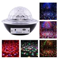 Лазер диско Lux CY-6740 UFO Bluetooth crystal magic ball, 220V, пульт Д/У. 31988