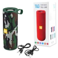 Bluetooth-колонка T&G UBL TG149, с функцией радио, speakerphone, Power Bank, camouflage. 31561