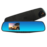 Автомобильный видеорегистратор-зеркало Lux L-9001, LCD 3.5'', 1080P Full HD. 31687