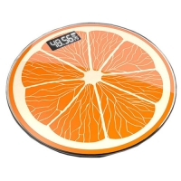 Весы напольные 2003A фрукты, 180кг (50г), температура Lux. 31861