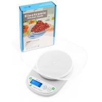 Весы кухонные QZ-161A, 5кг (1г), чаша Lux. 31858