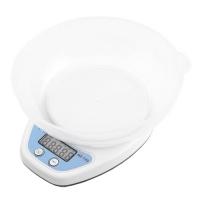 Весы кухонные QZ-129, 5кг (1г), чаша Lux. 31855
