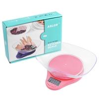Весы кухонные 116A, 5кг (1г), чаша Lux. 31849
