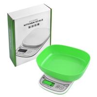 Весы кухонные QZ-158, 10кг (1г), чаша Lux. 31856
