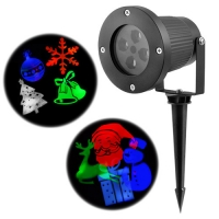 Лазер диско Lux 326-2, 12 изображений, 220V, Box. 31986