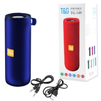 Bluetooth-колонка T&G UBL TG149, с функцией радио, speakerphone, Power Bank, blue. 31560