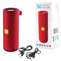 Bluetooth-колонка T&G UBL TG149, с функцией радио, speakerphone, Power Bank, red. 31562