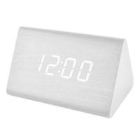 Часы сетевые VST-864-6 белые, температура, USB. 32845