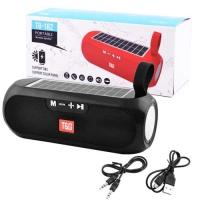 Bluetooth-колонка T&G UBL TG182, c функцией speakerphone, радио, PowerBank, часы, солнечная батарея, black. 31582