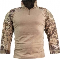 Рубашкa Skif Tac AOR shirt w/o elbow. Размер - S. Цвет - Kryptek Khaki. 27950140
