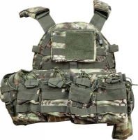 Жилет тактический Skif Tac с подсумками ц:kryptek green. 27950239
