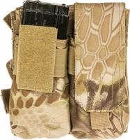 Подсумок Skif Tac для 4х магазинов АК с креплением на бедро ц:kryptek khaki. 27950302