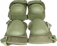 Комплект защитный Skif Tac наколенники и налокотники ц:olive drab. 27950315