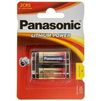 Батарейка Panasonic 2CR5 * 1 LITHIUM (2CR-5L/1BP). 47382
