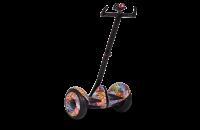 """Гироскутер с ручкой для детей и взрослых Monorim M1Robot Ninebot mini 10,5"""" (Music Edition) - Hand Drive PRO Hip-hop Miami (Хип-Хоп Оранжевый). 31171"""