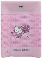 Пеленальная доска Maltex жесткий с изголовьем 50х70 см  hello kitty, розовый. 34482