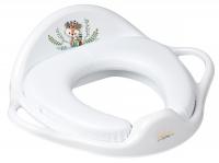 Накладка на унитаз Tega Wild & Free Little Fox DZ-020 мягкая 103 white. 34475